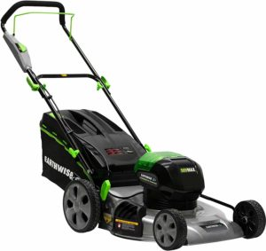 Earthwise 65821 Cordless Electric Push Lawn Mower