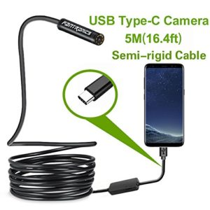 Fantronics 5M Rigid Cable Wireless Android Endoscopes and IOS