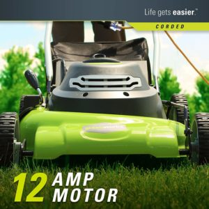 Greenworks 20-Inch 3-in-1 12 Amp