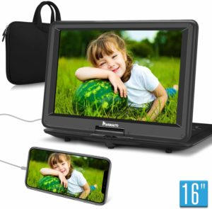 NAVISKAUTO 16 Portable DVD Player