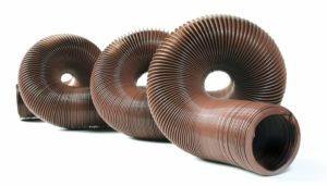 Camco 39631-A Durable Sewer with Steel Wire Core 20 Feet, Brown (39631)