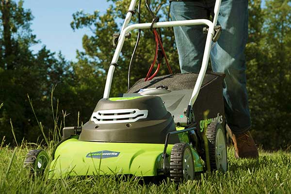 Greenworks 25022 20-Inch 3-in-1 12 Amp Electric Corded Lawn Mower