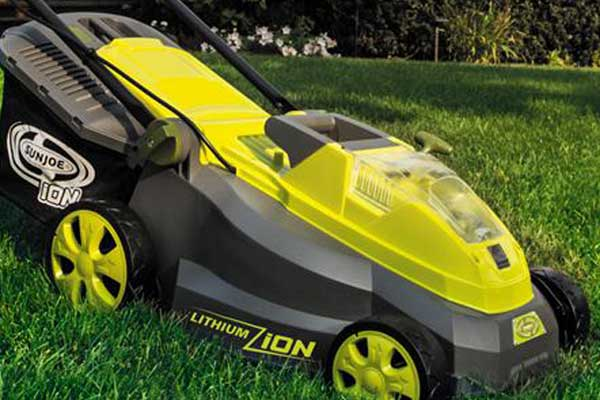 Sun Joe iON16LM 16-Inch Brushless Cordless Lawn Mower