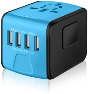 SAUNORCH Universal International Travel Power Adapter