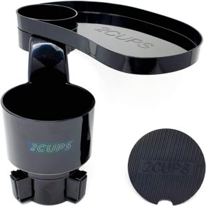 2CUPS Multiple Car Cup Holder Expander