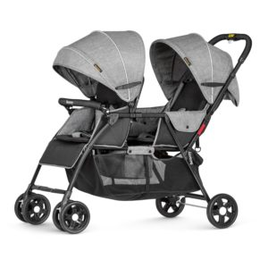 One-hand-fold Double Stroller