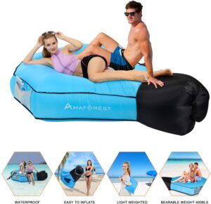 Ama Forest Inflatable Lounger Air Sofa Hammock-Inflatable Couch