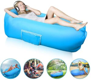 Vodche Inflatable Lounger Air Sofa Hammock-Portable