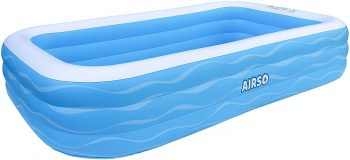 Airso Family Full-Sized Inflatable Swimming Pool