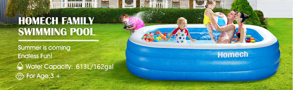Best Homech Inflatable Swimming Pools