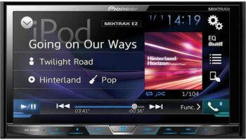 Pioneer AVH-X491BHS Touch Screen Car Stereo DVD Receiver